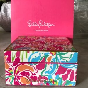 Lilly Pulitzer Lacquer Box NWT